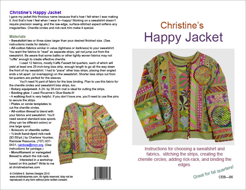 happy jacket pattern